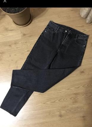 Mom джинсы zara на высокой посадке 36 размер ❤️