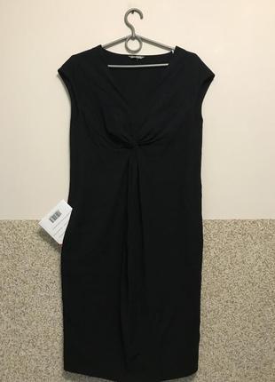 Стильное, новое платье m&s woman можно для беременной, р.36 eur, xs-s