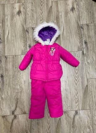 Дитячий зимовий костюм disney 2t