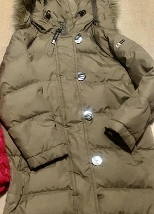 Пальто - куртка пуховик red&blu (бельгия)