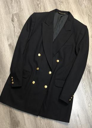 Актуальный двубортный пиджак marks & spencer винтаж