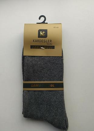 Шерстяные мужские носки