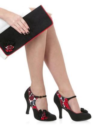 Ruby shoo шикарные оригинальные туфли яркие