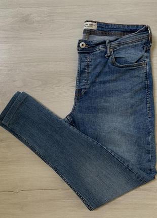 Стрейчеві чоловічі джинси від jack&jones slim fit stretch