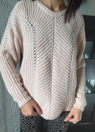 Тепленький светр with wool