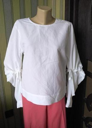 Cos шикарная оригинальная блузка