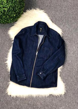 Джинсовая куртка h&m оригинал ( размер m )