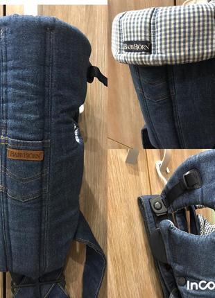 Кенгуру-переноска baby bjorn, рюкзак