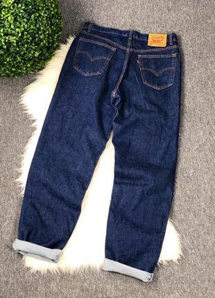 Джинсы levi's 550 relaxed fit ( размер 36/34 )