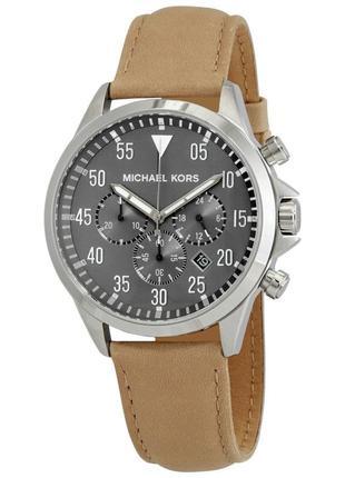 Мужские наручные часы michael kors кожа новые подарок мужу мужчине