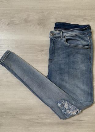 Стрейчеві чоловічі джинси від new look men stretch skinny