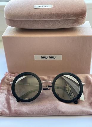 Новые очки miu miu(оригинал),полный комплект
