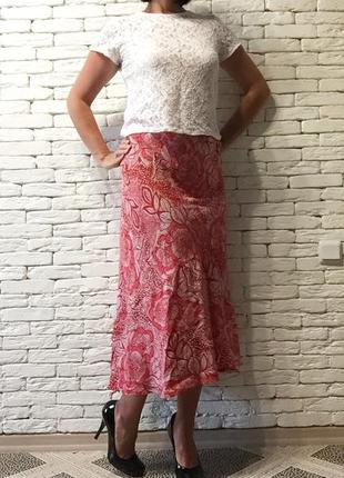 Большой размер - 24 !!! новая юбка из вискозы