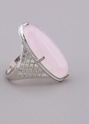 Кольцо розовый кварц 'pataya' 0846690.