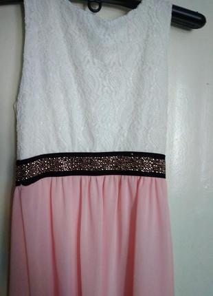 Нежное, модное платье5 фото