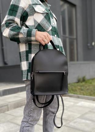Стильний жіночий рюкзак з екошкіри