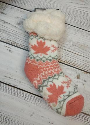 Теплые носочки с тормозами