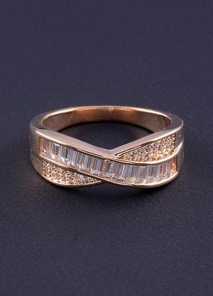 Кольцо 'big dipper' фианит (позолота 18к) 0562700.