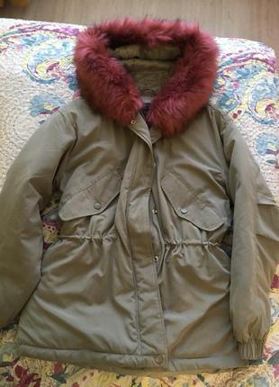 Куртка женская sinsay/парка деми/жіноча парка демі