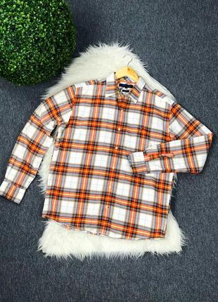 Рубашка tommy hilfiger оригинал ( размер l )
