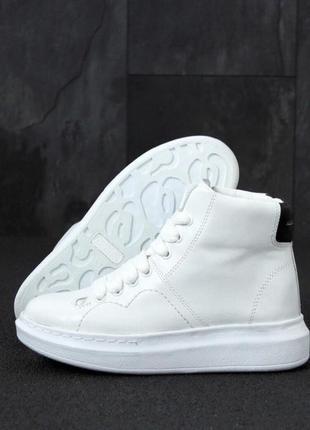 Високі кросівки черевики alexander mcqueen ботинки кроссовки