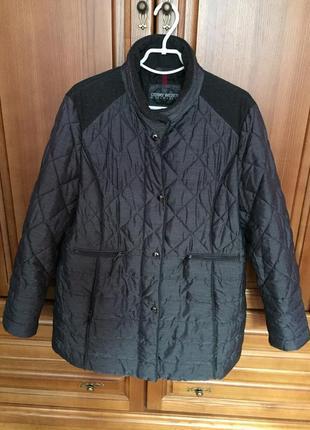 Фирменная куртка gerry weber 52 54 большой размер