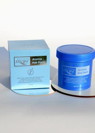 Відновлююча маска з кератином і протеїнами incus aroma hair pack (150ml)
