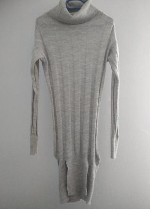 Lost n'soul удлиненный свитер шерсть альпака