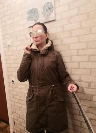 Парка куртка 42 размер