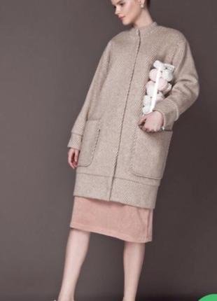Шерстяное пальто anna yakovenko