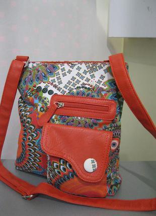 Новая французская сумочка-кроссбоди ixoo