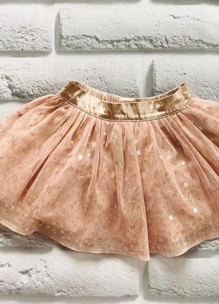 I love next красивая юбка-пачка на девочку 12-18 мес