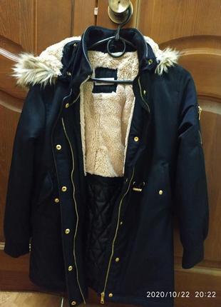 Курточка h&m на 10-11 лет демисезонная