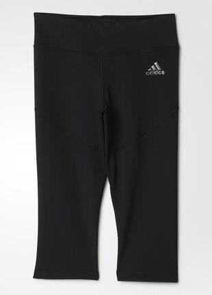 Плотные спортивные лосины на девочку adidas