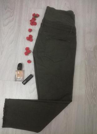 Трендовые штаны скини для беременных h&m