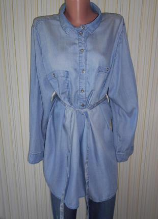 #джинсовая туника оверсайз#h#m mama# xl-xxl#джинсовая рубашка#одежда для беременных#