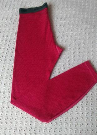 Термоштани з мериносової шерсті легінси термо леггинсы штаны термобелье шерстяное