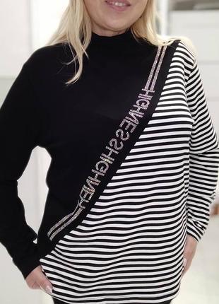 Шикарный свитерок вискоза котон турция отличного качества