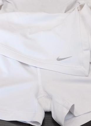 Юбка - шорты nike girls nkct victory skirt court dri fit flex р.152-158 см для тенниса