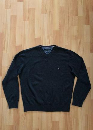 Мужской свитер кофта свитшот tommy hilfiger