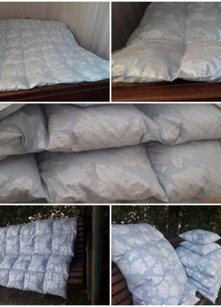 Пухова ковдра двохспальна теплое одияло новое