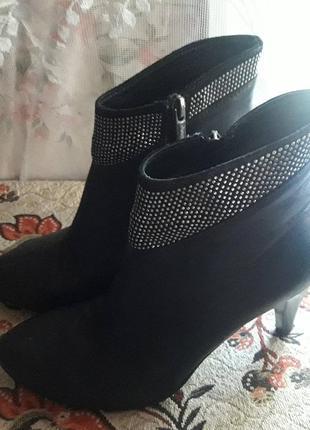 Полусапожки на каблуке