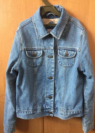 Джинсовка, джинсовая куртка, пиджак new look