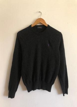 Мужской шерстяной свитер кофта свитшот polo ralph lauren