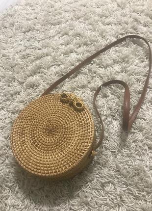 Соломяна сумка
