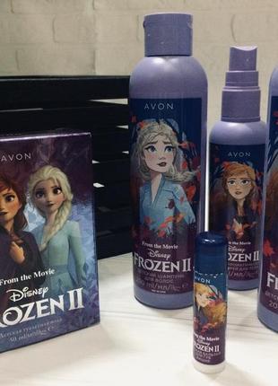Avon frozen для детей гель шампунь туалетная вода бальзам