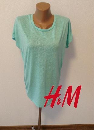 Удлиненная просторная футболка для спорта h&m sport / большая распродажа!