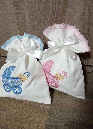 Мешочки для конкурса мальчик-девочка