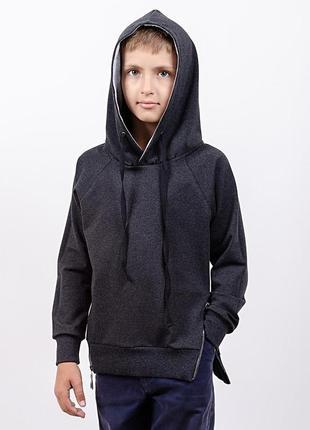 Джемпер для мальчика, темно-серый