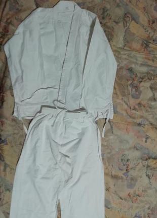 Кимоно для тхэквондо айкидо каратэ дзюдо на рост 170-4